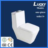 7# One-Piece S-Trap Sifón lavabo de cerámica en baño de porcelana sanitaria con certificado CE/Saso