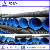 HDPE Doppio-Wall Corrugated Pipe per Water Drainage Dwc Underground Pipe Size 200mm - 800mm