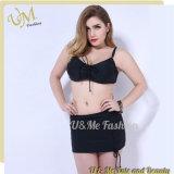Конструкция изготовления сексуальная большая плюс женщина установленное Бикини Swimwear размера