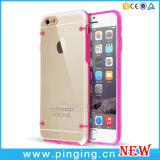 Кристально чистый на iPhone 6 прозрачных пластмассы случая ультра тонких трудных