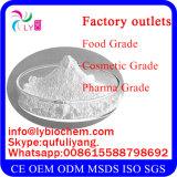 Pó do ácido hialurónico da classe/sódio cosméticos puros Hyaluronate