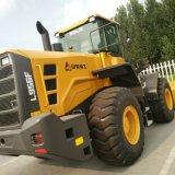 Cargador de la rueda de la maquinaria de construcción 5t/cargador Sdlg LG956L L956f de las partes frontales