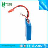 1100mAh 7.4V de litio polímero de litio para coches