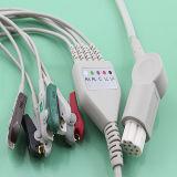 Kabel des Datex-ECG mit Leitungsdrähten (AMD Y0008A5B)