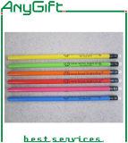 Lápis de madeira com logotipo personalizado e cor 22