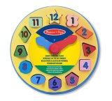 Calendário de madeira Puzzle educativos brinquedos de madeira