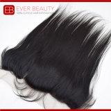 자연적인 색깔 Virgin 머리 가발 레이스 정면
