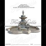 Fontaine Carrara de qualité supérieure pour décoration intérieure Mf-873