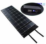 Tela de tela 120W dobrável Sunpower Carregador de painel solar com saída 18V para laptop, barco, carrinho de golfe 12V Batery (FSC-120A)
