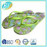 Flop Flip женщин с подошвой PE планок и Comportable PVC