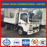 4X2 de Lichte Vrachtwagen van de Stortplaats HOWO met Capaciteit 2-5tons