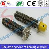 Elemento de calefacción tubular modificado para requisitos particulares no estándar del calentador del borde aletado