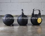 Caldaia di gomma Bell di forma fisica di ginnastica di Kettlebell di addestramento di Kettlebell Crossfit della concorrenza