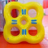 Vierpersonenwasser-Park-aufblasbarer Ski/Plättchen-Gefäß für Verkauf, Gefäß-Fliegen-Wasser-Ski-Gefäß des aufblasbaren Wasser-2-Person Towable