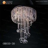 Hängende Lampe des chinesischen Kristallleuchter-K9 (OM931 L80 W40 H35cm)