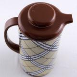 POT all'ingrosso del tè di stampa del fiore con la ricarica di vetro
