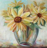 Подсолнечники масляной живописи - Репродукции картин на стене