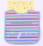 중국 공장 OEM 생성 주문 인쇄 귀여운 파란 EVA 흡수성 아기 유아 목 수도꼭지