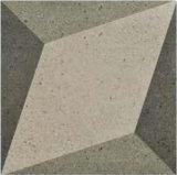 Neuer Entwurfs-grauer Farben-nicht Beleg-rustikale glasig-glänzende Dekor-Porzellan-Fliese für Bodenbelag