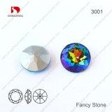 Pujiang Fabrik-dekorative Rosen-FarbekristallRhinestone für Schmucksache-Zubehör