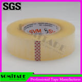 Cinta modificada para requisitos particulares Sh315 del embalaje del rodillo enorme de Somitape BOPP para el lacre del cartón