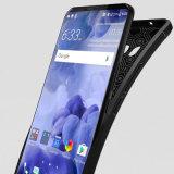 HTC U11를 위한 광택이 없는 연약한 가죽 TPU 전화 상자 플러스