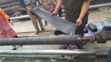 Descarga de sucção flangeada grande diâmetro da mangueira do tubo do tubo de borracha de dragagem