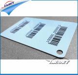 Cartão plástico, cartão do VIP, cartão do código de barra