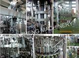 6000bph 유리병 음료 충전물 기계