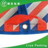 Cubierta no tejida plegable modificada para requisitos particulares 2018 de la ropa del juego del recorrido del almacenaje reutilizable de la insignia