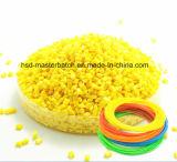 [ب] أصفر [مستربتش] يكوّن ملوّن لأنّ بلاستيك [3د] طباعة [إينجكأيشن مولدينغ]
