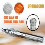 Type en verre vaporisateur duel de Vhit d'atomiseur de globe de brevet de Seego de crayon lecteur de cire de bobine de quartz de Qdc de nécessaire de C
