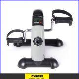 Bicicleta de exercício portátil do pedal do pé do instrutor do braço e do pé