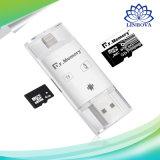 HochgeschwindigkeitsIdrive USB-Blitz-Laufwerk-Kartenleser für iPhone/Android