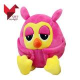 Projetar seu próprio brinquedo colorido do luxuoso da coruja para crianças