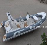 Liya 10person China 520 Rippe Belüftung-aufblasbares Boots-Cer genehmigt