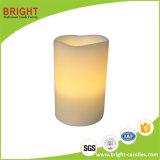 Vela LED del Pilar Vela y vela blanca