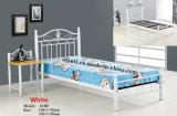 Кровать спальни горячей мебели спальни надувательства стальная (B-502#)