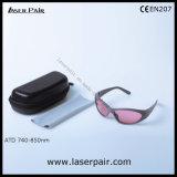 LaserpairからのAlexandrite及びダイオードのレーザーのための755nm及び808nmレーザーの保護Eyewear