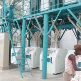 Уганда 50T/24h муки для продажи фрезерный станок для обработки кукурузы