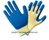 Рабочая безопасности связано с покрытием из латекса работу с покрытием из нейлона масла сопротивление безопасности рабочие перчатки в Гуанчжоу