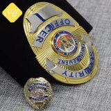 Locking Pin를 가진 공장 Price Custom Fbi Police Badge