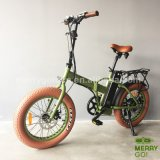 سمين إطار العجلة طيّ سريعة درّاجة كهربائيّة مع [س] [إن15194]