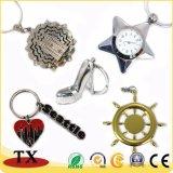 Trousseau de clés en métal de mode pour les postes promotionnels de cadeau
