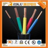 Кабель медного PVC проводника изолированный и обшитый экрана гибкия кабеля Rvvp 6*0.5 экрана кабеля Rvvp