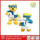 Le jouet le meilleur marché d'ours de nounours de T-shirt de la Chine