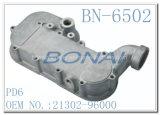 Coperchio laterale di alluminio Pd6 (OEM no. del radiatore dell'olio dei Nissan: 21302-96000)