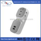 3 Разъем порта дорожное зарядное устройство переменного тока для зарядки мобильного телефона