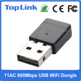 Realtek 11AC 1T1R 600Mbps Rtl8811au Dual Dongle do USB WiFi da faixa