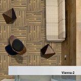 1/12 de tapete o mais novo da telha da HOME do hotel do escritório do calibre - Viena com revestimento protetor do PVC